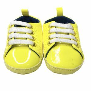 Baby Gap Neon Yellow Soft Sole Sneakers